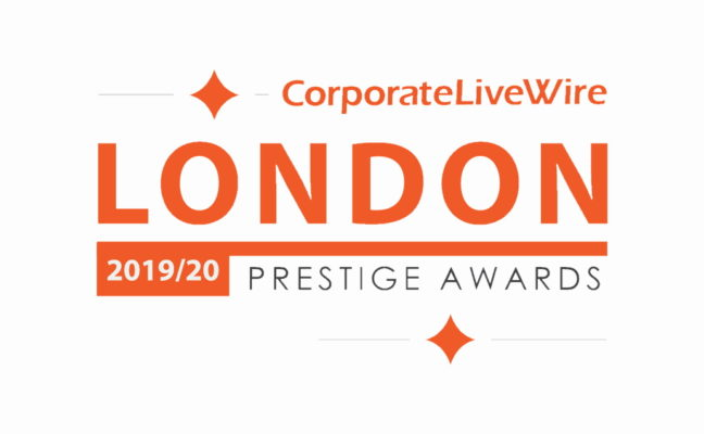 London Prestige Winners Logo award